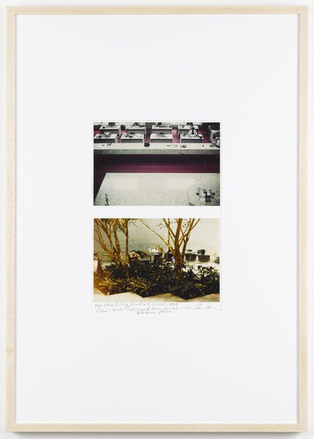 Dan Graham, 'Office Building, Ground Level, New York (1975), Homeless People, Corporate Atrium, Park Avenue Atrium (1987) ', 1987