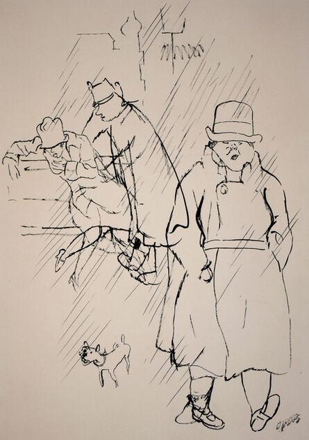 George Grosz, ' The Way Home | Nachhause', 1928
