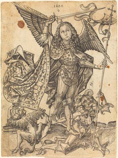 Master E.S., 'Saint Michael Defeating the Devils', 1467