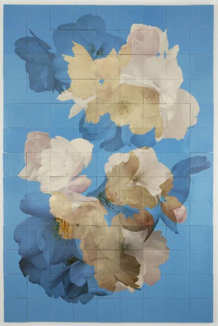 Henrik U. Müller, 'Kirschblüten (blau) / Cherry Blossoms (blue)', 2012