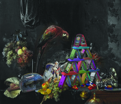 Shimon Okshteyn, 'House of Cellphones', 2010