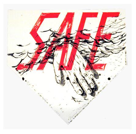 Ed Ruscha & Raymond Pettibon, 'Safe', 1999