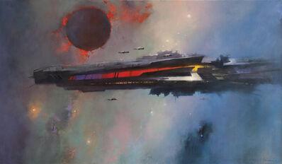 John Harris, 'Spectral Lines', 2017
