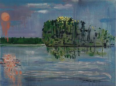 Brian Frink, 'Moon and Island', 2020