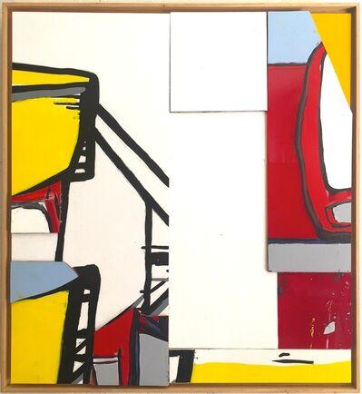 Jasper Knight, 'Marked Painting #1', 2017
