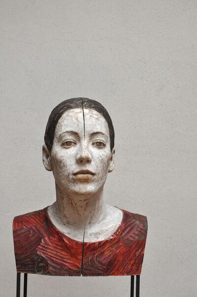 Bruno Walpoth, 'Sara con treccia', 2016
