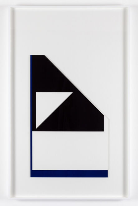 Peter Saville, ''Diagonal reflex edge' (from the 'metalanguage' series) ', 1980-2015