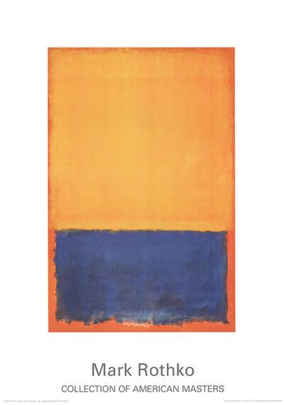 Mark Rothko, 'Yellow, blue, orange (1955)', 2015