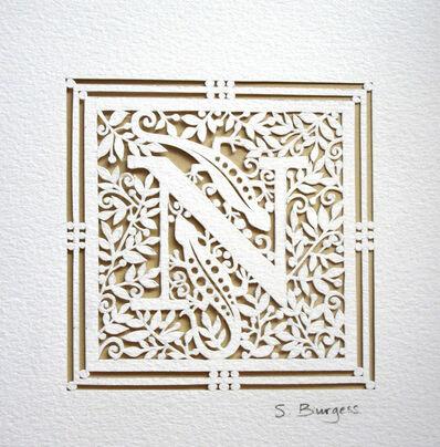 Sara Burgess, 'Alphabet N', 2014