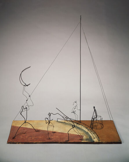 Alexander Calder, 'Circus Scene', 1929