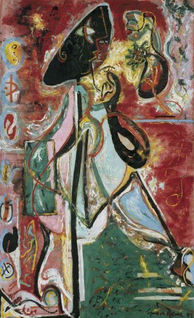 Jackson Pollock, 'The Moon Woman', 1942
