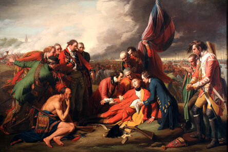 Benjamin West, 'The Death of General Wolfe', 1770