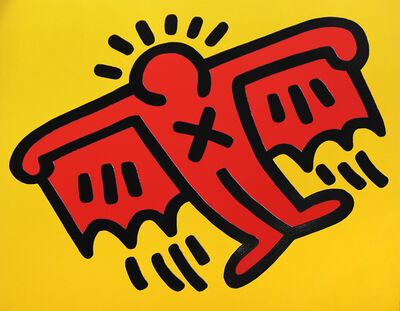Keith Haring, 'X Man (Icon 4)', 1990