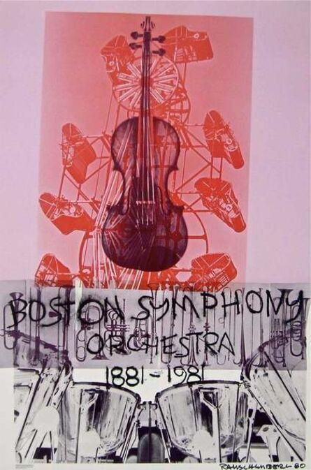Robert Rauschenberg, 'Boston Symphony, 1980 Centennial Exhibition Poster', 1980