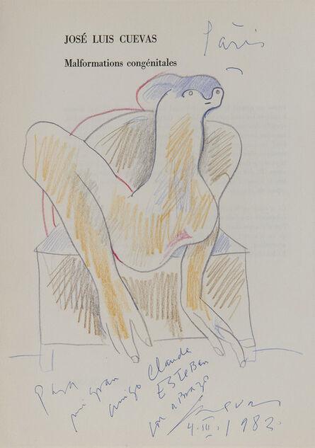 Jose Luis Cuevas, 'Argile', 1982