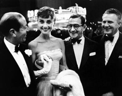 Phil Stern, 'Cole Porter, Audrey Hepburn, Irving Berlin, and Don Hartman', ca. 1950
