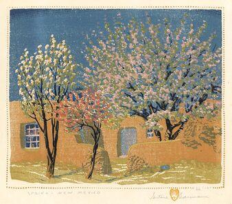 Gustave Baumann, 'Spring - New Mexico.', 1924
