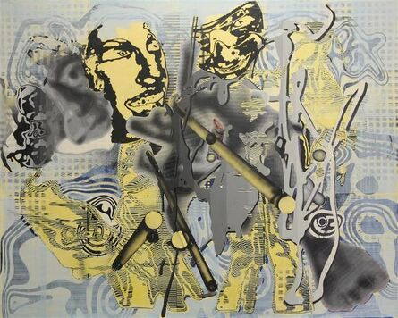 Markus Oehlen, 'Untitled', 2002