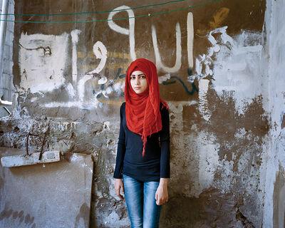 Rania Matar, 'Samira 15, Bourj El Barajneh Refugee Camp, Beirut Lebanon', 2011