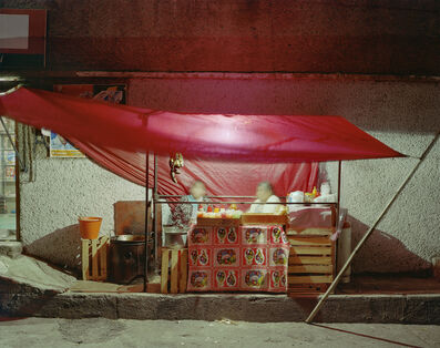 Jim Dow, 'Small Tent Taco Stand, Independencia, Naucalpan, Mexico State, Mexico', 2006