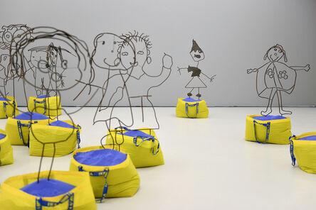 Flaka Haliti, 'Sochima, Edgar, Daniel, Tshego, Nihal, Oyane, Ms. Dagrou, Anna, Abigail, Quentin  (each sculpture is a single work)', 2015