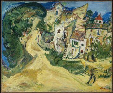 Chaim Soutine, 'Landscape at Cagnes', 1922
