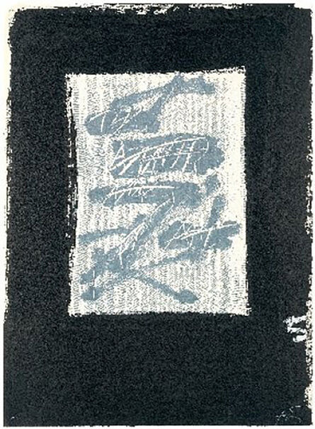 Antoni Tàpies, 'Llambrec-17', 1975