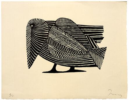 Mario Prassinos, 'The Raven', 1952