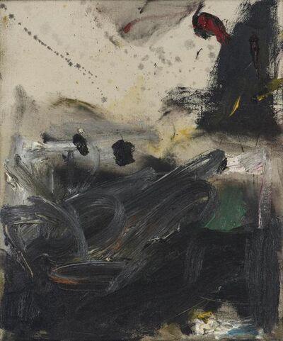 Gene Davis, 'Black Turmoil', 1957