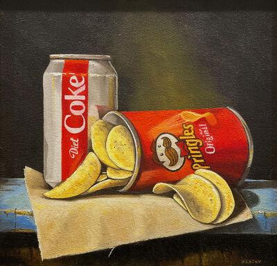 Hickory Mertsching, 'Pringles and Coke', 2021