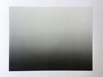 Hiroshi Sugimoto, 'Time Exposed #317 Atlantic Ocean - Cliffs of Moher', 1991