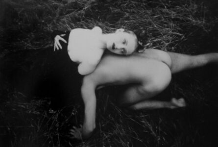 David LaChapelle, 'Nude Man and Woman in the Grass (White Rabbits) ', 1986