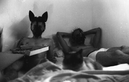 Los Picoletos, 'S.T. (cachorros en la cama)', 2018