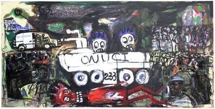 Aboudia, 'Onuci II', 2011