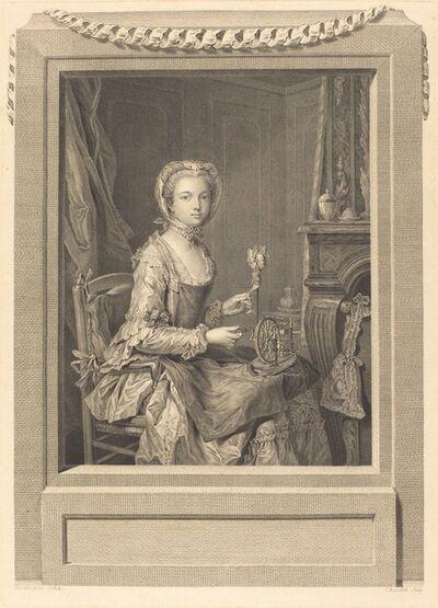 Juste Chevillet after Jean-Gaspard Heilmann, 'Mademoiselle Sa Soeur'