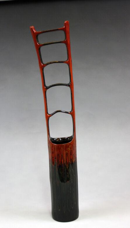 Fujinuma Noboru, 'Bamboo Lacquered Cylinder', 2014