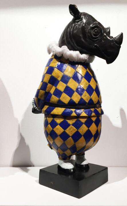 Bjorn Skaarup, 'Rhino Harlequin, maquette', 2017