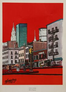 Burhan Dogançay, 'New York', 1965