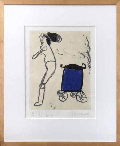 James Havard, 'Woman w/Trash Can', 2000
