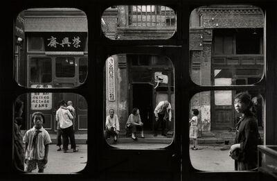 Marc Riboud, 'Windows of an antique dealers shop, Liulichang, Beijing.', 1965