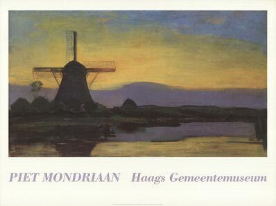 Piet Mondrian, 'Mill by Evening', 1950