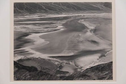 Edward Weston, 'Dante's View, Death Valley', 1938