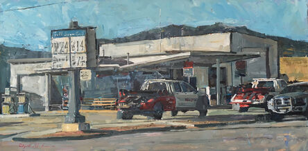 Clyde Steadman, 'Waiting for Business', 2017