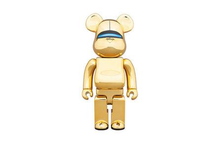 BE@RBRICK, 'Sorayama Sexy Robot 400% Gold (Bear)', 2018