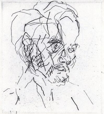 Frank Auerbach, 'Leon Kossoff', 1980