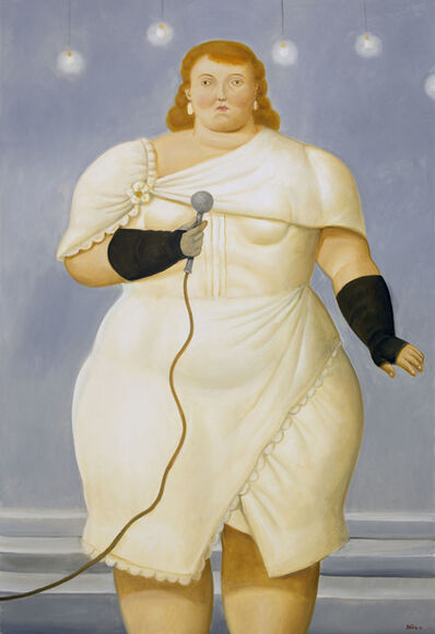 Fernando Botero, 'La Cantante ', 2016