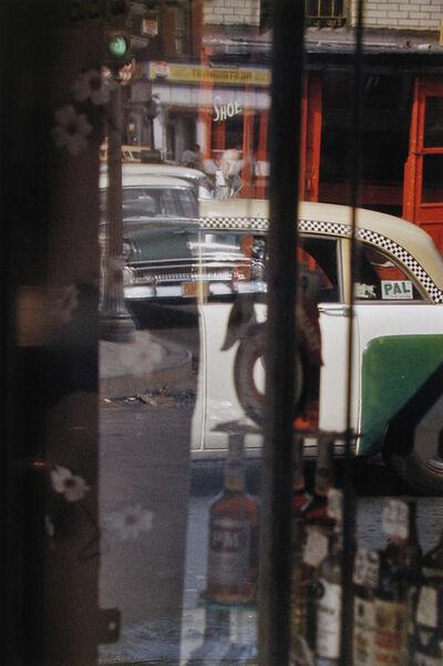 Saul Leiter, 'Taxi', 1956