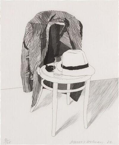 David Hockney, 'Panama Hat', 1972