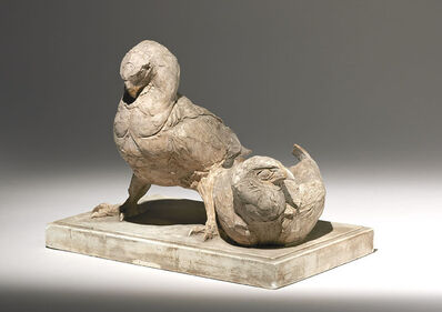 Albéric Collin, 'Two Battleur Eagles', ca. 1930