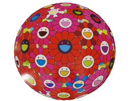 Takashi Murakami, 'Flowerball (3D) - Red, Pink, Blue', 2013